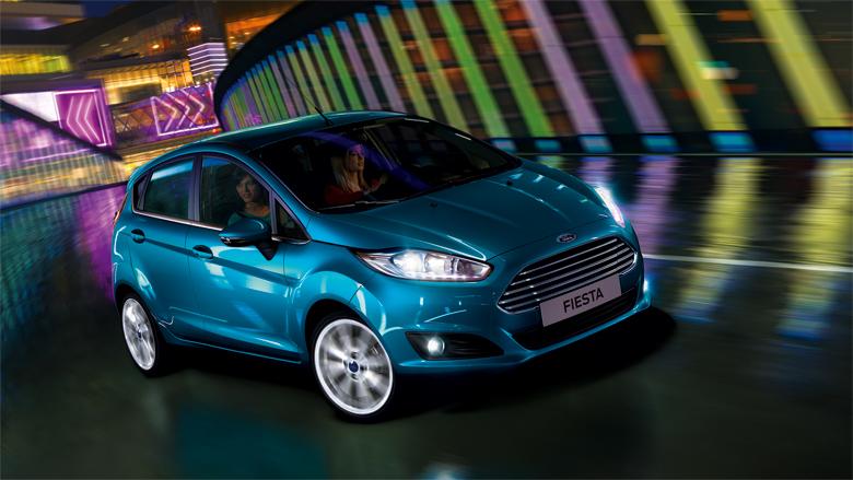 Ford Fiesta ön tasarım